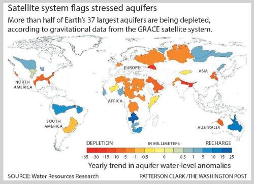 world-running-out-of-water map